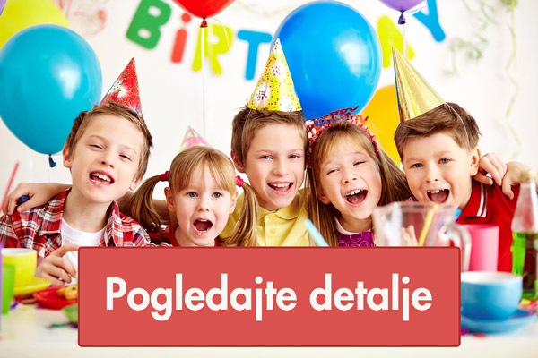 Dečiji rođendani uz klovnove, vile i vilenjake
